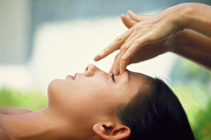 Eye & Forehead Massage